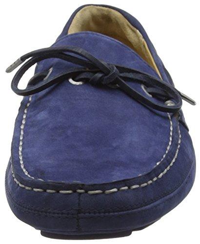 Sebago Kedge Tie, Mocassini Uomo Blu (Blue (NAVY NUBUCK))