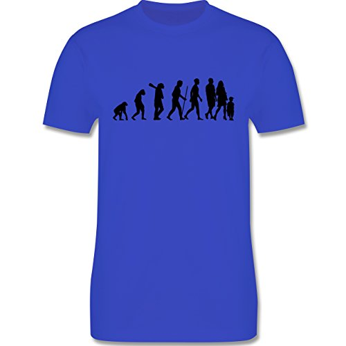 Evolution - Familie Evolution - Herren Premium T-Shirt Royalblau