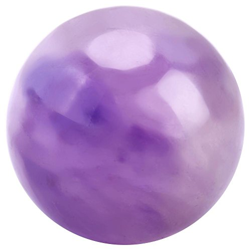 Preisvergleich Produktbild Hilitand Purpurroter Kristallstein-natürliche Quarz-Kugel-Kristallkugel-Heilungsstein für Hauptraumdekoration