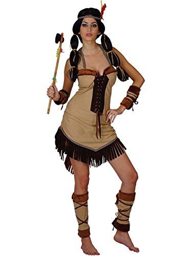 Damen-Kostüm Indianer-Prinzessin, Erwachsene