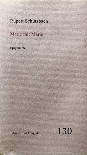 Marie mit Marie: Epigramme (Heftreihe)