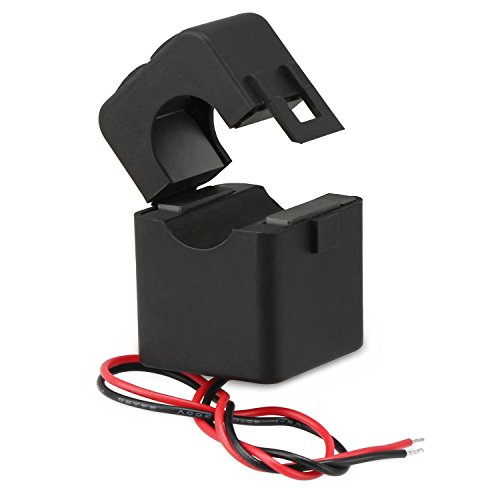 Droking Stromwandler, 100A / 100mA AC-Stromwandler, Mini-Stromsensor, Split-Core-Stromwandler-Relais, CT ohne Abschaltung -