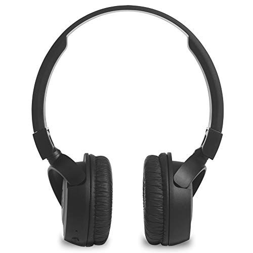 JBL T460BT Extra Bass Wireless On-Ear Headphones with Mic (Black) Image 4