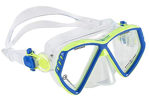 AQUA LUNG SPORT Kinder Cub JR Taucherbrille blau S