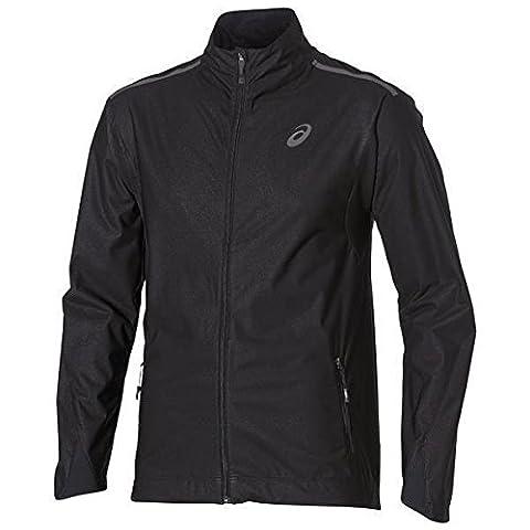 asics Windblock - Veste course à pied - noir Modèle L 2016 jacket