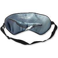 Eye Mask Eyeshade Water Whale Sleep Mask Blindfold Eyepatch Adjustable Head Strap preisvergleich bei billige-tabletten.eu