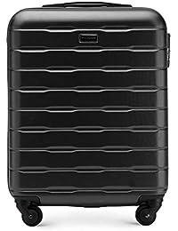 WITTCHEN Stabiler Koffer Trolley Handgepäck Bordgepäck Bordcase Abmessungen 54 x 39 x 23 cm Kapazität 38 l Gewicht 2,7 kg ABS