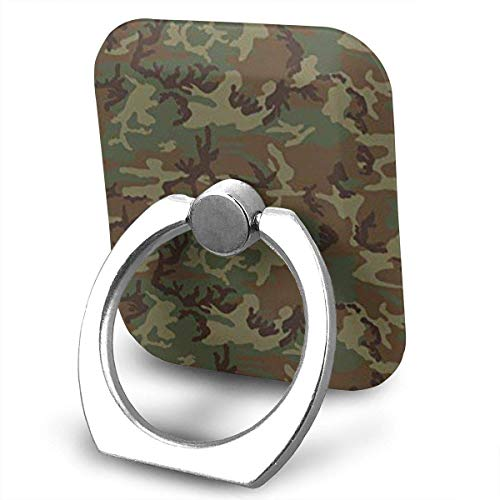 Nicegift Woodland Universal Camo Ring Phone Holder Bracket Pop Stand Kickstand for Smartphones,Tablets -