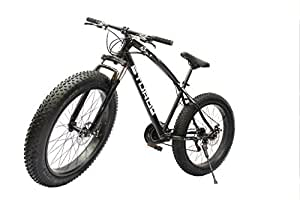 STURDY BIKES Fat Mountain Bike with 26x4 Inch Tires (Black)