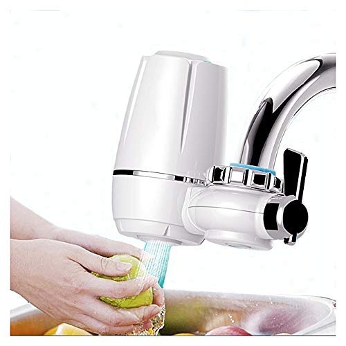 Exseson Ceramic Tap Water Filter Faucet for Purification (Multi Color)