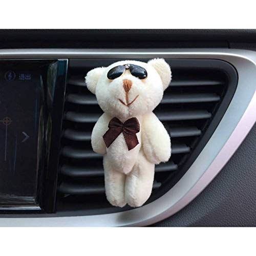 XIEJUN Ciondolo per Auto Decorazione dell'automobile Simpatico Orso, Presa Auto, Clip di Profumo, Accessori Auto Personalizzati Interni Auto Decorazione Auto Ornamento