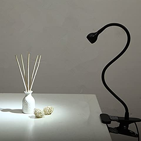 Lampe de Lecture, GLISTENY 1W Lampe LED Rechargeable à Pince
