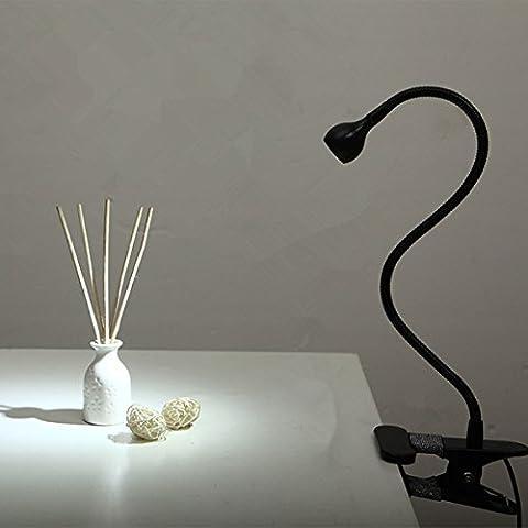 Lampe Flexible - Lampe de Lecture, GLISTENY 1W Lampe LED