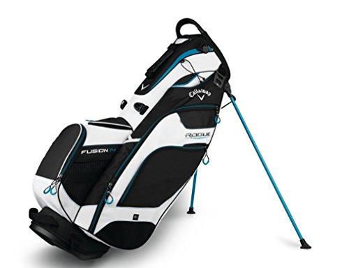 Callaway Cg St Fusion Sac pour chariot de golf pour adultes Unisexe Taille unique noir/blanc