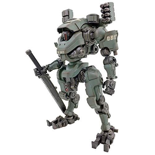 YAHAMA 16cm Mecha Kit Modell Figuren 1:27 Tiekui Mecha Spielzeug Entfernbar ML Angriff Mecha Modell - Mech-modell-kit