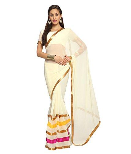 VINTAGE Girls cotton saree(VINTAGE O32_multi colour_Freesize)