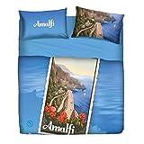 Bassetti Bettwäsche Tagesdecke Doppelbett Imagine Souvenir von Italien AMALFI 3 in