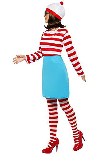 Imagen de película/tv oficial fancy disfraz de ¿dónde está wally wenda disfraz completo disfraz alternativa
