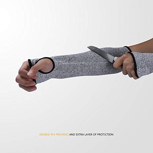 1 Stück Brandneue Sicherheitshandschuhe Antischnittschutz Pannensicher Bandagen Schutz Sport Drive Arbeit Arme Schutzhandschuhe Armee Mitt