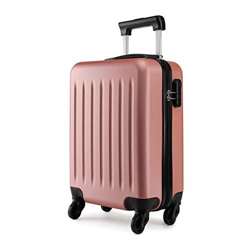 Kono trolley rigido in abs bagaglio a mano valigia rigida e leggera con 4 ruote