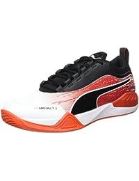 Mens Evoimpact 4.3 Fitness Shoes, Blanc/Noir/Rouge Flash Puma