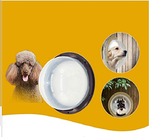 George zhang EIN kleines Zaunfenster für EIN Haustier, eine Hundepunktür, oder EIN Peephole/Türöffnungsdiameter ist 250MM, Kantendurchmesser ist 285MM 500G