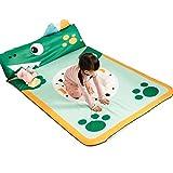 LJFYXZ- Abnehmbare Eis Seide Krabbeln Matte Verdickung Kinder Spielmatte Waschen Haushalt Anti-Rutsch-120 * 185 * 4 cm