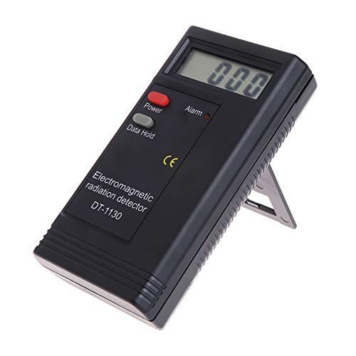 Omiky® Elektromagnetische Strahlung Detektor EMF Meter Tester Dosimeter Geist Jagd Ausrüstung (Schwarz) Emf-tester