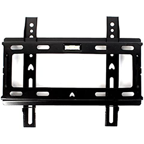14-32 pulgadas plana de soporte inclinable soporte de pared para televisor