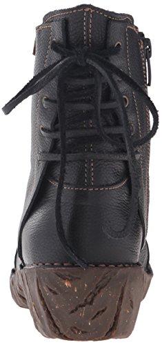 El Naturalista N148 Soft Grain Black/Yggdrasil, Stivali a Gamba Larga Donna Nero (Black)