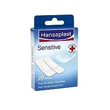Hansaplast Sensitive Strips Pleisters, 20 Stuk