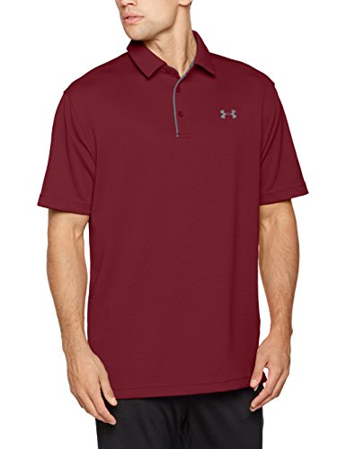 Under Armour Herren Tech Polo Kurzarmshirt, Aubergine Wine, M
