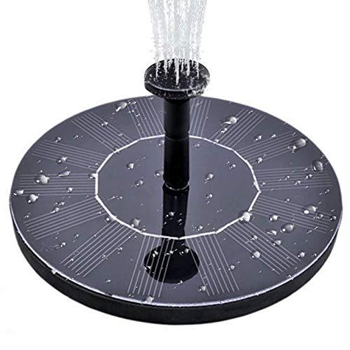 ZALMJ Solar Pool Fountain Pump & Solar Outdoor Fountain Panel Kit & FüR VogelbäDer, Kleine Teiche, GäRten Und RasenfläChen (Solar-pool-reel)
