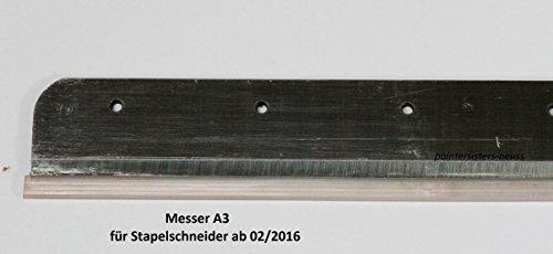 MESSER für Stapelschneider A3 ab Modell 02/2016 für Modell Paintersisters-Neuss