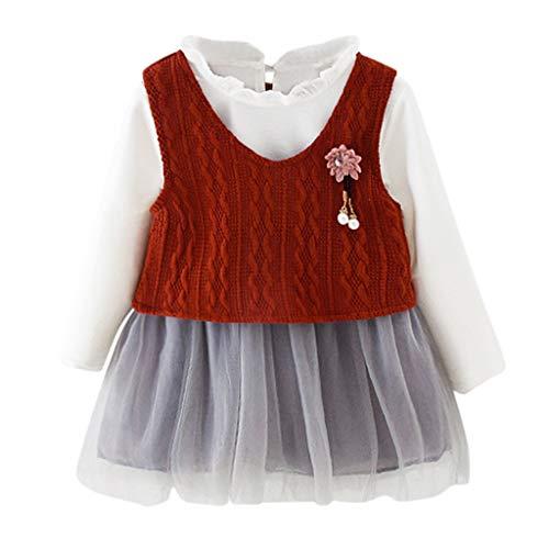 Neugeborenen Mädchen Kinder Tüll Tutu Rock Prinzessin Kleid Mode Weste Zweiteilige Wilde Abendkleider Baby Kinder Kleider Set Hochzeit Geburtstag Party Ball Kommunions Warme Outfits