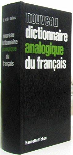 Nouveau dictionnaire analogique du français