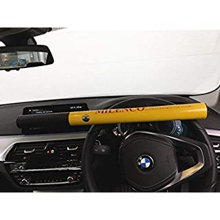 Milenco HS Yellow Steering Wheel Lock