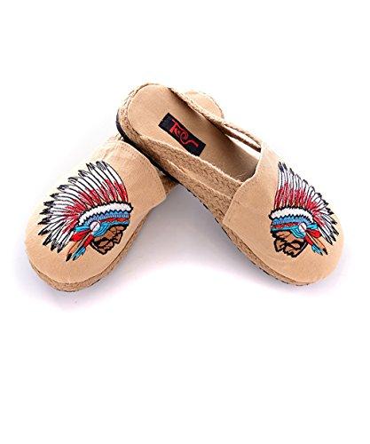 CHAOXIANG Pantofole Piatte Flip Flop Antiscivolo Clogs delle donne Sandali Da Surf Nuovo Calzature Da Spiaggia Estiva ( dimensioni : EU35/UK3/CN35 )