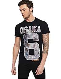 Superdry Osaka 8 Photographic Lite T-Shirt Black
