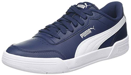 Puma Unisex-Erwachsene Caracal Sneaker, (Peacoat White 04), 4.5 EU (Puma-peacoat)