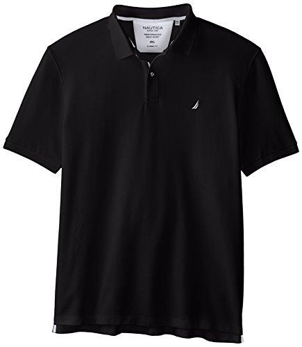 Nautica Herren Poloshirt True Black