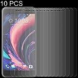 Konglz Pellicola in Vetro temperato per telefoni Cellular Pellicola in Vetro temprato 10 PC 0.26mm 9H 2.5D for HTC One X10 Pellicola in Vetro temprato
