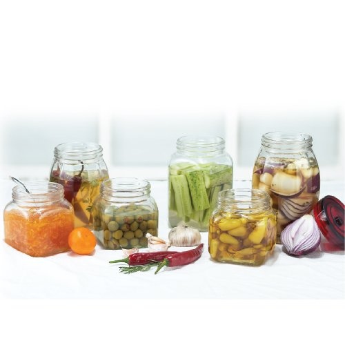 Lock & Lock Lock&Lock Glass Canister, 1.8 Litres