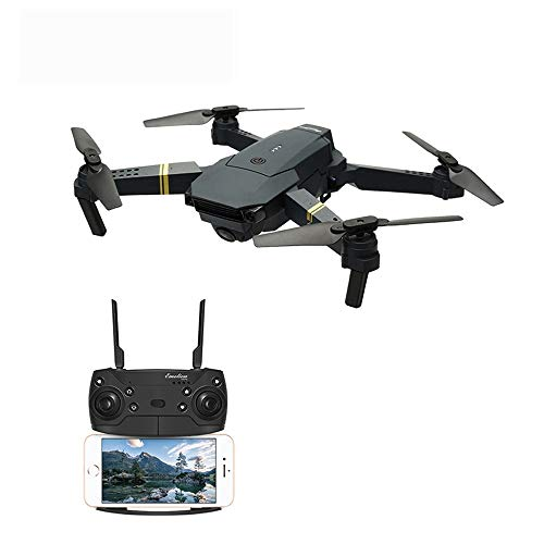 ELVVT Faltbarer Arm Fernbedienung 8.0MP WiFi FPV Weitwinkel HD Kamera Drohne High Hold Modus Mini RC Quadrocopter RTF EIN-Schlüssel-Start/Landung/Stop UAV Spielzeug Geburtstag Kin (Rtf-mini-quad)