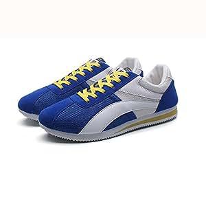 YIXINY Schuhe Koreanische Version Herrenschuhe Wild Sport Freizeit Turnschuhe Jugend ( Farbe : Grau , größe : EU40/UK7/CN41 )