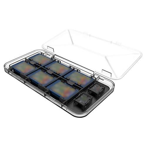 Tensay 5 stücke universal memory pack sd mmc spielkarte kunststoff speicher juwel case abdeckung für spielbegeisterte ätherisches -