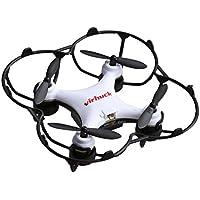 Virhuck GB202 Mini Pocket Quadcopter Drone, 2,4 GHz, 6 AXIS GYRO, 3 Speed Mode, Rotation 3D, Eversion 360 Degrés Quad Drone Mini Drone pour Enfant et Débutant - Blanc, Noir, Rouge