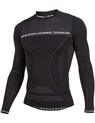 Nalini Traill camiseta interior de manga larga - negro, color Negro - negro, tamaño S/M