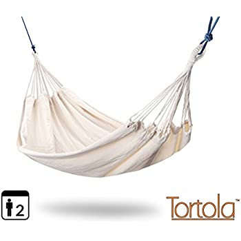 Medium image of tortola ivory outdoor garden double hammock   large two person hammock