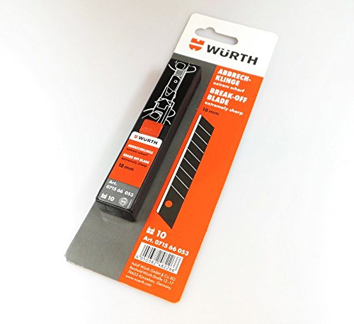 10 St. Würth Abbrechklinge extrem scharf 18mm (4050382482266) ()